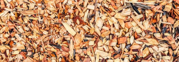 Mulchen mit verschiedenen Materialien