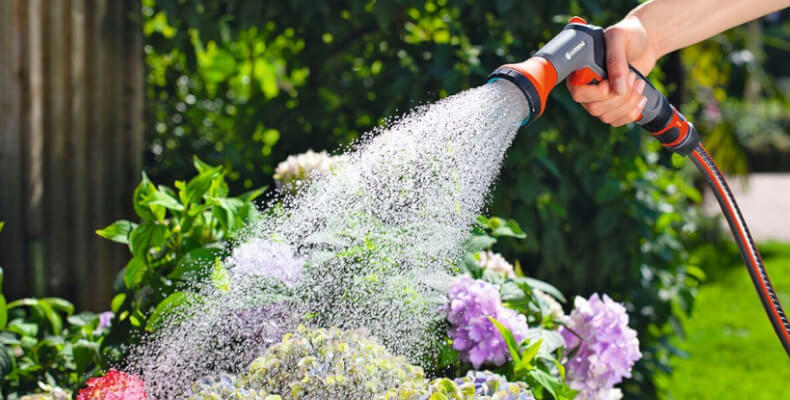 Gartenbrause für die Bewässerung